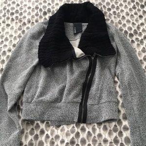 Jackets & Blazers - Made in LA side zip cropped jacket